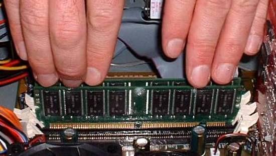 Computer Memory Computer Memory Upgrade An Install
